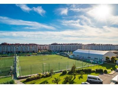 Квартал Русский дом Бархатные сезоны Сочи |спортивные площадки, футбольное поле