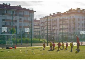 Спортивные площадки  Русский дом Квартал Спортивный