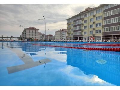 Квартал Русский дом Бархатные сезоны Сочи  бассейн